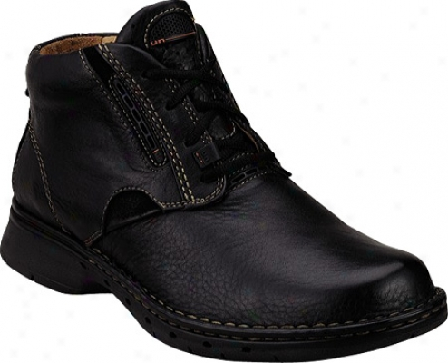 Clarks Un.furl (men's) - Black Leather