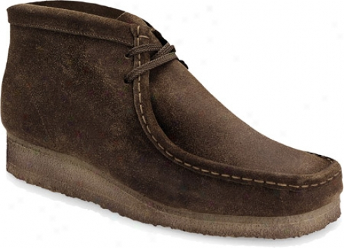 Clarks Wallabee Boot (men's) - Taupe Distressed