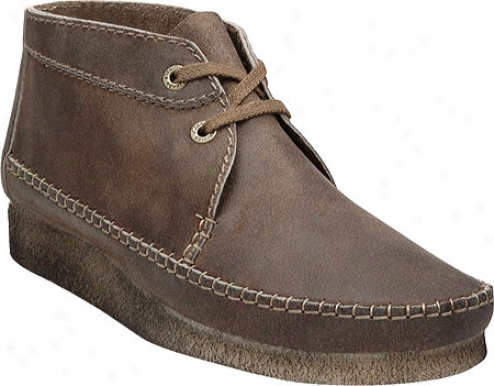 Clarks Weaver Boot (mwn's) - Taupe Distressed