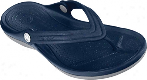 Crocs Duet Flip (men's) - Navy/light Grey