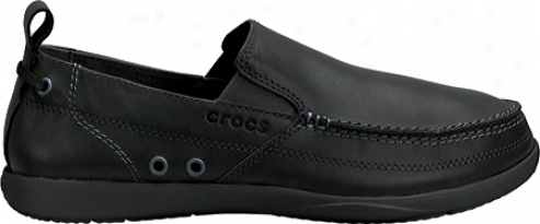 Crocs Harborline Loafer (men's) - Black/black
