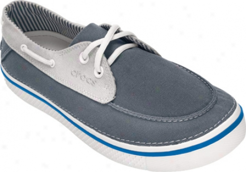 Crocs Hover Boat (men's) - Charcoal/white