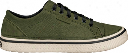 Crocs Hover Lace Up Leather (men's) - Army Green/stucco