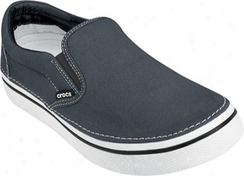 Crocs Hovre Slip-on - Charcoal/white