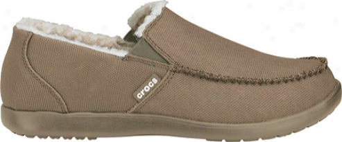 Crocs Santa Cruz Lounger (men's) - Khaki/khaki