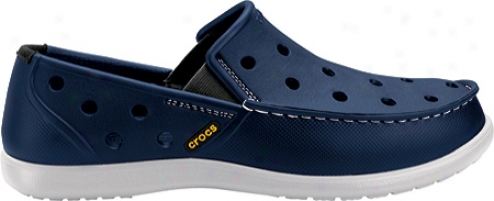 Crocs Santa Cruz Molded (men's) - Navy/pearl