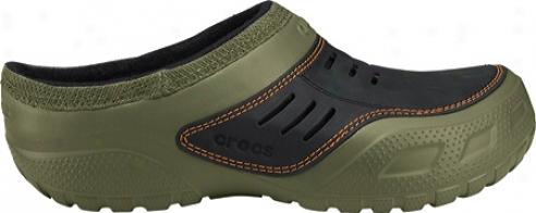 Crocs Yukon Sport Lined (men's) - Army Green/black