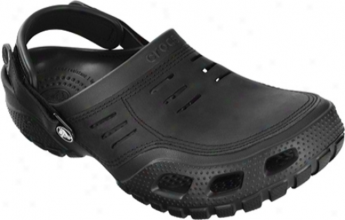 Crocs Yukon Play (men's) - Black/black