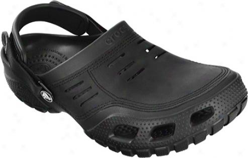 Crocs Yukon Play (men's) - Black/black