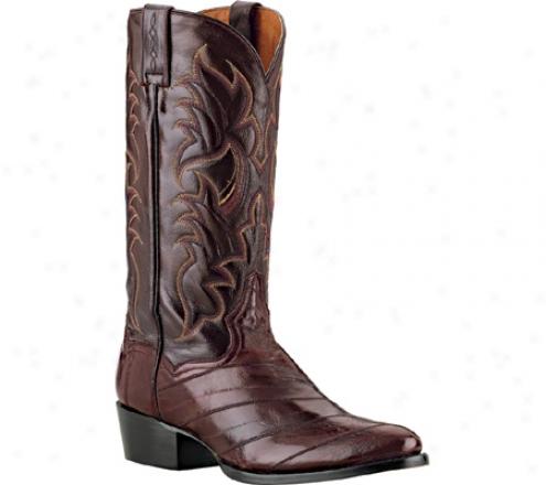 Dan Post Boots Genuine Eel (men's) - Brugundy