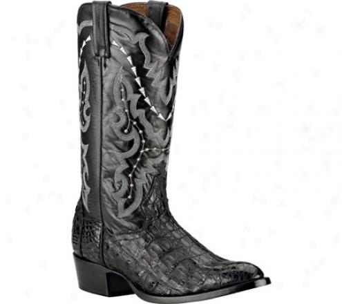 Dan Post Boots Genuine Border  Caiman (men's) - Black