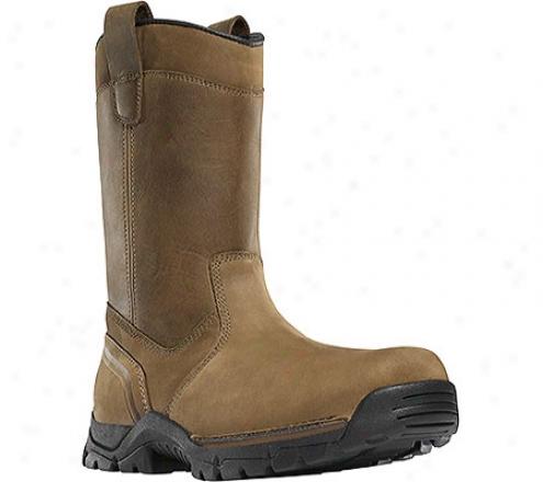 """danner Rampant Wellington Tfx Nmt 11"""" (men's) - Brown Leather/nubuck"""