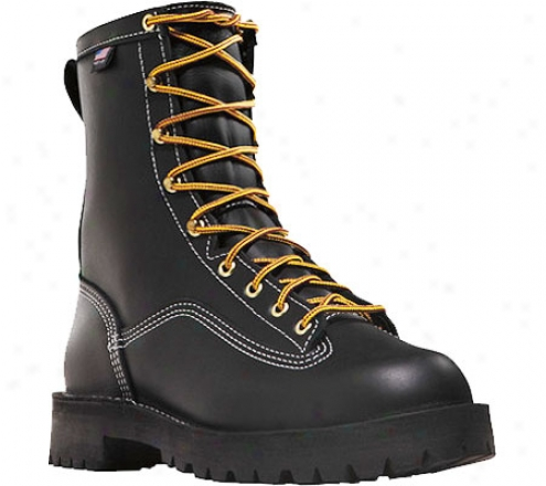 """danner Super Rain Forest Nmt 8"""" (men's) - Black Leather"""