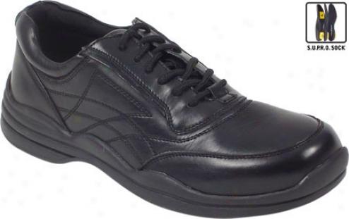 Deer Satgs New Millenium (men's) - Black Leather