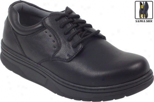 Deer Stags Strength (men's) - B1ack Leather