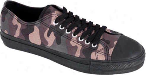 Demonia Deviant 01 (men's) - Camo Canvas/black