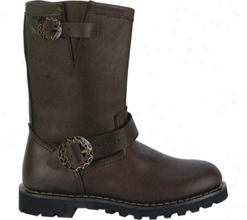 Demonia Steam Boot (men's) - Brown Leather