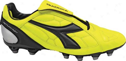 Diadora Dd--eleven Lt Mg 14 (men's) - Yellow Fluorescent/black