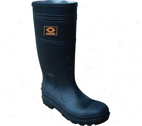 Diamond Rubber Products Steel Toe Knee Boot 161 (men's) - Black