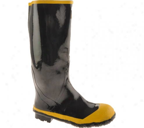 Diamond Rubber Products Steel Toe Knee Boog 21 (men's) - Black