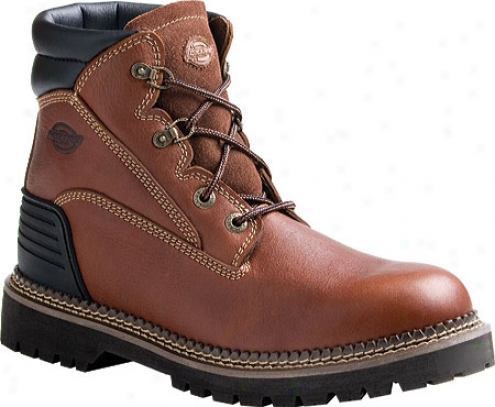 Dickies Heritage St (men's) - Saddle Brown Full Grain Leather