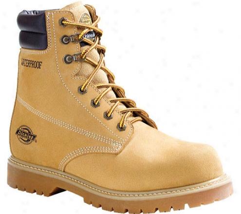 """dickies Raider 8"""" (men's) - Wheat Full Grain Leather"""