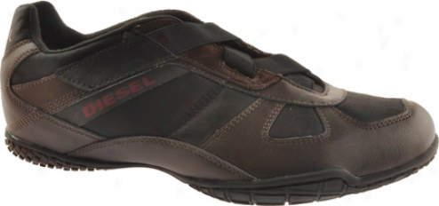 Diesel Nicy (men's) - Black/coffee Bean/brick Red