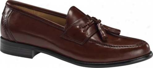 Dockers Lyon (men's) - Mahogany Polished Full Grain Leather