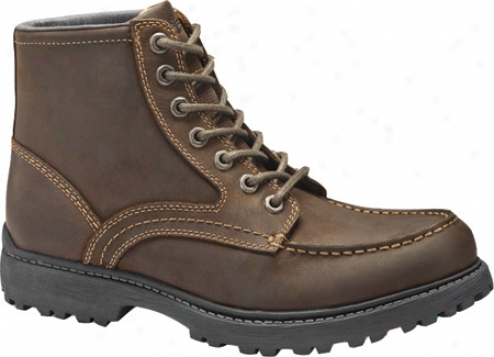 Dockers Vachon (men's) - Dark Brown Oiled Distressed Full Grain