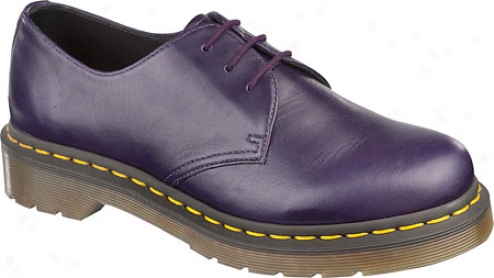 Dr. Martens 1461 W 3-eye Gibson - Potent Purple Buttero