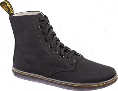 Dr. Martens Alfie 8 Eye Boot (men's)_- Black Canvas