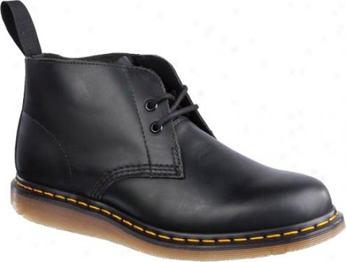 Dr. Martens Manton 2 Watch Desert Boot Smooth (men's) - Black Smooth