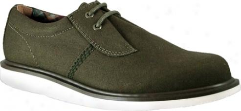 Dr. Martens Regan Lace Shoe (men's) - Khaki Fine Canvas