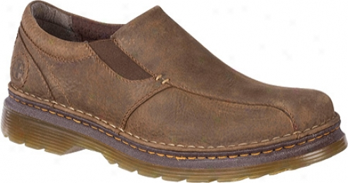 Dr. Martens Tevin Slip On Shoe (men's) - Dark Taupe Dirty Dog