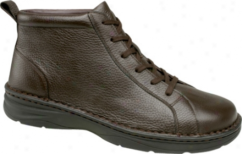 Drew Hiliiard (men's) - Dark Brown Pebbled Leather