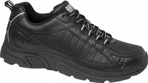 Drew Jeremy (men's) - Black/silver Leather