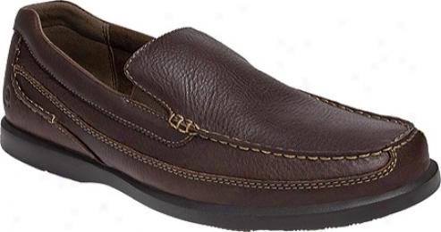 Dunham Boardwalk (men's) - Smooth Brown Leather