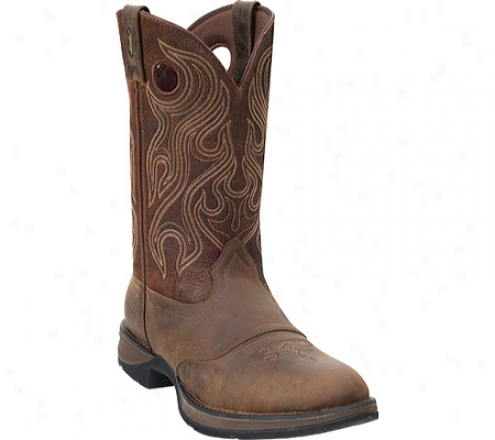 """durango Boot  Db5474 12"""" Rebel (men's) -  Dusk Velocity/bark Brown"""