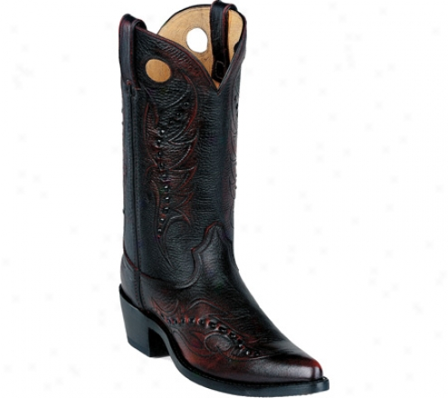Durango Boot Db585 12 (men's) - Black Cherry Skirmish Off Leather