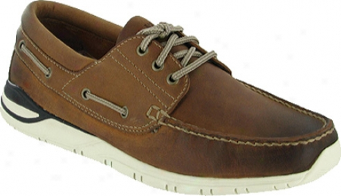 Eastland Full Deck (men's) - Brown Leather