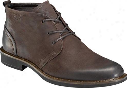 Ecco Biarritz Boot (men's) - Coffee Nubuck