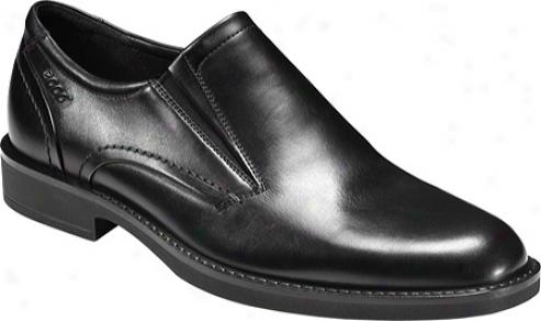 Ecco Biarritz Slip On (men's) - Black Oxford Leather