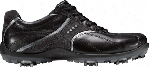 Ecco Casual Cool Ii 150004 (men's) - Blaci/buffed Silver/moonless Leather