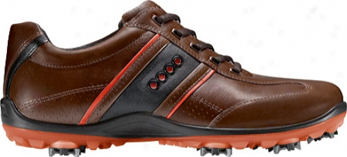 Ecco Accidental Cool Ii 150014 (men&#039;s) - Bison/fire/black Leather