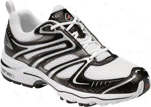 Ecco Rxp 1660 (men's) - Black/white/black Synthetic/textile/tpu