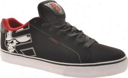 Etnies Fader Vulc (men's) - Black/white/red