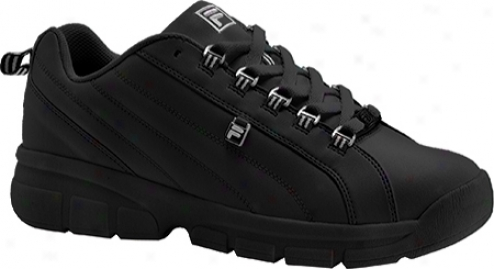 Fila Exchange 2k10 (men's)-  Black/metallic Silver