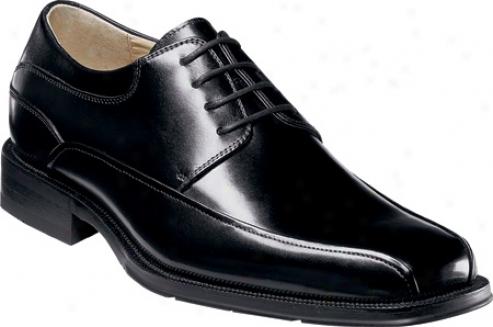 Florsheim Curti s(men's) - Black Buffalo Leather