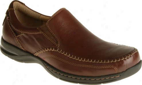 Florsheim Dawes (men's) - Brown Milled Leather