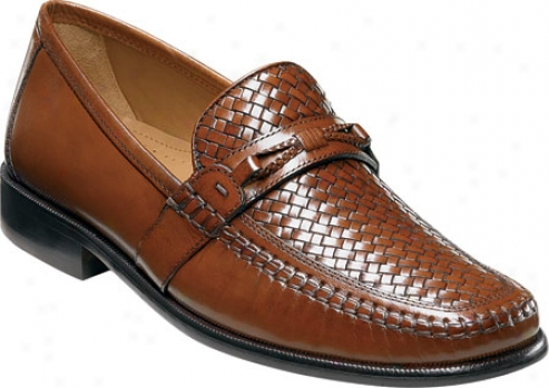 Florsheim Jareth (men's) - Cognac Buffalo Leather
